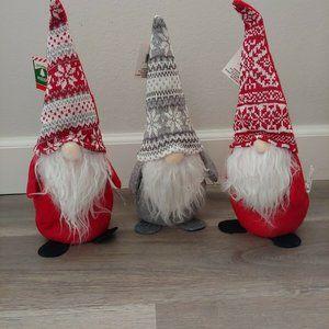 Santa Gnomes Trio Beanbag Bottoms